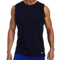 Russell Athletic Men's Dri-Power Performance Sleeveless Tee, Navy, Large