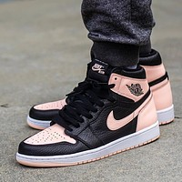 Nike Air Jordan 1 Retro High Crimson Tint Basketball Shoes Sneakers