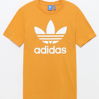adidas Trefoil Yellow T-Shirt at PacSun.com