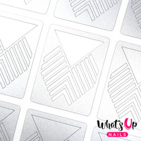 Whats Up Nails - Art Deco Stencils