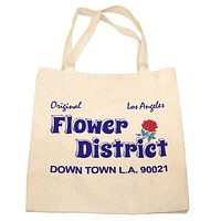 Altru Apparel Flower District Tote Bag