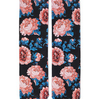 Floral Patterned Socks