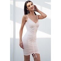"""Sirena"" Ruched Mini Dress"
