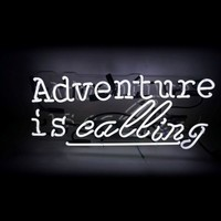 Adventure Is Calling Neon Sign Real Neon Light