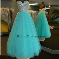 Custom-made Prom Dresses, Strapless Prom Dresses 2016, Prom Dress, Long Prom Dresses