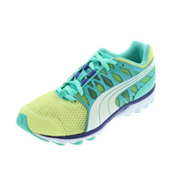 Puma Womens GeoTech Aya Mesh Colorblock Running, Cross Training Shoes