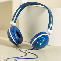 Swoons and Tunes Headphones in Galaxy | Mod Retro Vintage Electronics | ModCloth.com