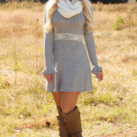 Best Thing That's Ever Been Mine Dress: Ash Gray