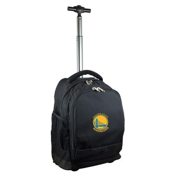 Golden State Warriors Wheeled Premium Backpack