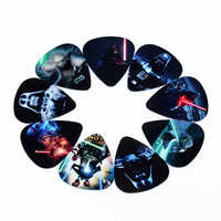 hot PICKS fashion10pcs Newest Star Wars Guitar Picks Thickness 0.71mm Musical instrument accessories