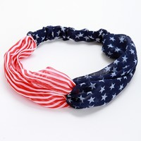 Promo-red American Woman Headband