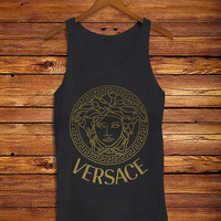 Versace Gold _ Tank Top And Tshirt Men And Women Design By : PATUNGAN