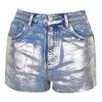 MOTO Metallic Mom Shorts - New In This Week - New In