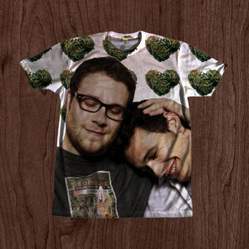 James Franco Seth Rogen Bromance Shirt - unisex Youth & Adult size tshirts USA Handmade *Fast Shipping*