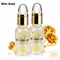 24k Pure Gold Foil Bulgarian Wild Rose Essence Serum Face Lift Anti-Aging Anti-Redness Moisturizing
