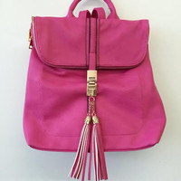 Simply Luxurious Backpack-Pink