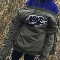 Nike Fashion Women/Men Trending Bomber Jacket