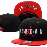 Jordan Women Men Embroidery Leisure Sports Sunhat Baseball Cap Hat