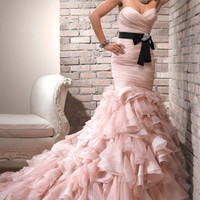 Charming Mermaid Long Wedding Dresses Prom Party Pageant Dresses Custom Size2-16