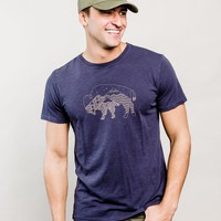 Men's Starry Bison Tee