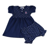 Arizona Girl's Heart Dress with Bloomers
