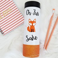 For Fox Sake Travel Tumbler