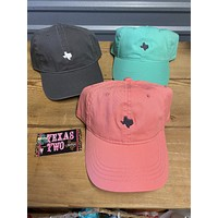 Texas State Pride Caps (3 Colors to choose from)