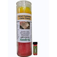 Attract Customers Dressed Candle Kit - Llama Clientes