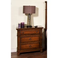 Sunny Designs Mango Night Stand In Whiskey
