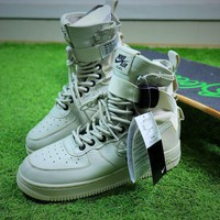 Nike Special Forces Air Force 1 SF AF1 Beige Boots Shoes Sneaker - Best Online Sale