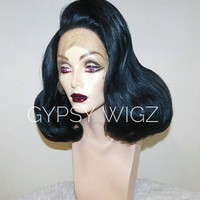 Black Widow // Fashion // Amanda Lepore // Drag Queen // Show Girl // Black // Lace Front