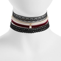 BP. 5-Pack Choker Necklaces | Nordstrom