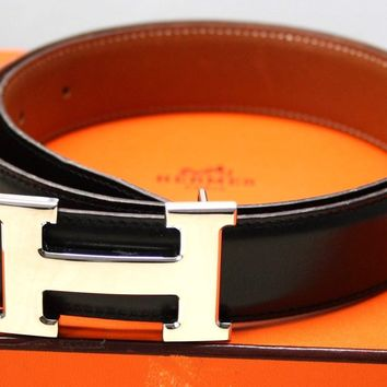 hermes belt, men hermes belt, women hermes belt, belt, belt hermes, belts for men, belts for women, Leather belt, men belt, mens belt, women belt,HERMÈS GÜRTEL MIT SILBERNER HERMES SCHNALLE - Größe: 78 - 100% ORIGINALWARE