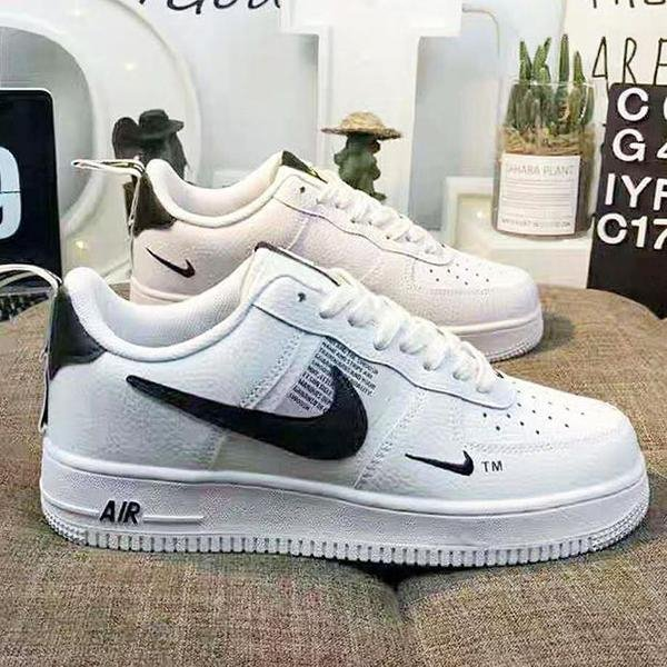 Image of NIKE Air Force 1 Popular Women Men Sports Running Sneakers Shoes