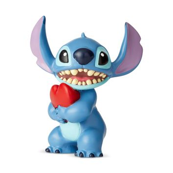 Disney Showcase Stitch with Heart Mini Figurine New with Box
