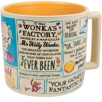 Roald Dahl Literature Ceramic Coffee Mug
