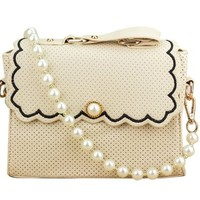 Sweet Ladies Quilted Chain Strap Messenger Cross Body Shoulder Bag