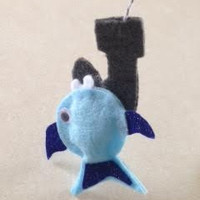 Magnetic Felt Fishing Game