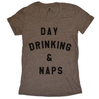 Day Drinking & Naps - Womens - Coffee