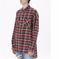 Men's Over-sized Flannel Shirt