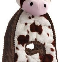 Charming Pet Cuddle Tugs Dog Toy Cow
