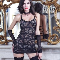 Hot Deal Cute On Sale Luxury Uniform Sexy Lace Backless Set Exotic Lingerie [6596066371]