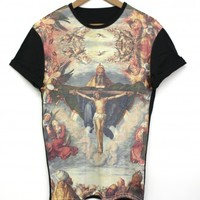 Adoration Black All Over T Shirt