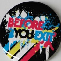 Before You Exit Logo Button