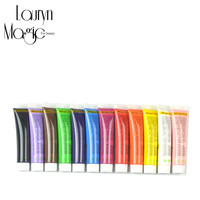 12 Color 12 ml/color for Nail Art Designs  3D Acrylic Nail Kit Paints / Nail Polish