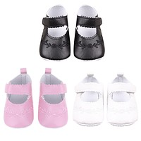 Soft Bottom Baby Shoes born Girl Children PU Embroidered Sneaker Princess Baby Shoes Toddler Shoe Prewalkers