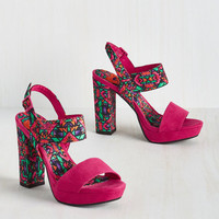 Statement Enhance Your Prance Heel in Bold Southwest
