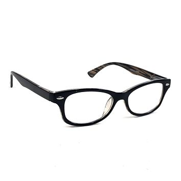 NWT Women Retro Reading Glasses Classic Trivette Fashion Spring Hinge Frame