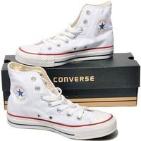 """Womens White """"Converse"""" Fashion Canvas Sneakers Sport Shoes"""