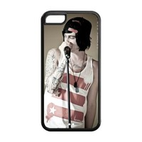 Fashion Sleeping With Sirens Personalized iPhone 5C Rubber Silicone Case Cover -CCINO
